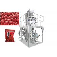 Automatic 2 - 10 Multihead Weigher Packing Machine For Apple Ring / Dates / Pistachio Nut Manufactures