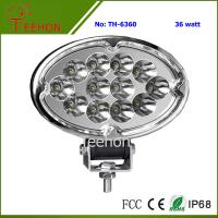 36W Oval Shape LED Working Lamp for SUV and MPV Manufactures