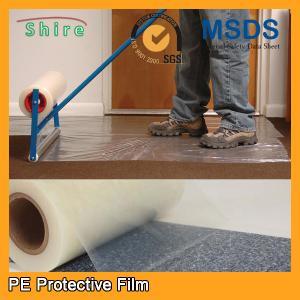 Heavy Duty Car Carpet Protector Film , Sticky Back Plastic Carpet Protector Film Manufactures