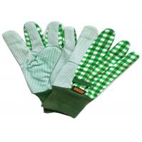 Gardening Working Cotton Drill Gloves Beautiful Patterns With Knit Wrist Manufactures