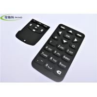 Waterproof Numeric Keypad Keyboard , Black Silicon Wireless Keyboard Multi Color Manufactures