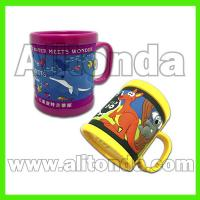 Buy cheap Custom and supply plastic pvc mugs for aquarium travel agent company museum gift from wholesalers