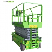 Hydraulic scissor type 450kg capacity working height 10m electric man lift for sale Manufactures