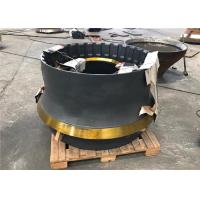 Mn18cr2 Material Cone Crusher Components With Sand Casting And Machining Process Manufactures