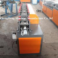 Galvanized Steel Shutter Door Roll Forming Machine With Punching 8 - 10 m / min Manufactures