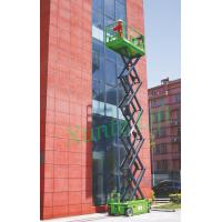 Quality Hydraulic motor drive Self Propelled Scissor Lift access platform max 13.8m for sale