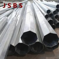Philippines Electrical Supplies Electrical Power Pole , Durable Tubular Steel Pole Manufactures