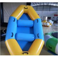 SGS Approval Customized PVC Inflatable Boat For Two Men / Three Man / Four Men Manufactures