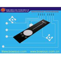 Polyester Metal Dome Push Button Tactile Textured LED Membrane Touch Switch Manufactures