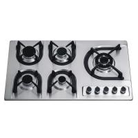 900mm Popular Built In 5 Burner Gas Hob Stainless Steel Home Apliance Manufactures