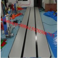 price air track gym for DWF,tumble track inflatable air mat for gymnastics,air track mat Manufactures