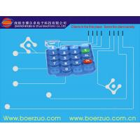 Metal Dome Led Backlit Membrane Switch 100mA With Tactile Push Button Manufactures