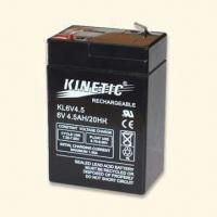 6V Sealed Lead Acid Rechargeable Battery Suitable for Cycle and Float Use Manufactures