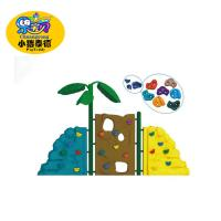 Custom Durable Plastic Kids Rock Climbing Wall 5 - 12 Years Age Group Manufactures