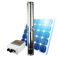High quality new design price solar water pump for agriculture  48v 1hp dc brushless motor solar deep well water pump Manufactures