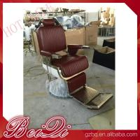 Luxury hair salon furniture barber styling units reclining hairdressing chair for sale Manufactures