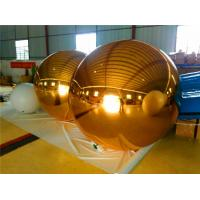 Customized Sphere Inflatable Balloons Mirror Ball For Entertainment Manufactures
