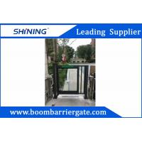 DC Motor Vehicle Entrance Security Barrier Gate With Anti-Crash Function Manufactures