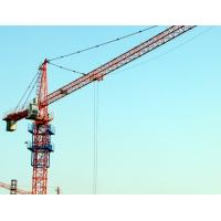 Hydraulic Rental City Lifting Tower Cranes Used In Building Construction Site High Safety Standard Manufactures