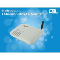 China Recharge Portech DBL G.723 VOIP GSM Gateway LEDs With Keyboard Setup on sale
