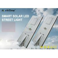 80W Solar Powered LED Road Lights With Lithium Battery 60AH Can Last 7 Rainy Days Manufactures