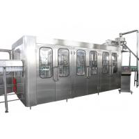 High Capacity Automatic Drink Production Line 8000BPH With CE Certificate Manufactures