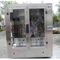 Full Automatic Cooking Oil Filling Machine , Edible Oil Packaging Plant For Pet Bottle Manufactures