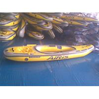 Two pesrson Summer PVC Inflatable Boat For Surfing , River fishing Boat Manufactures