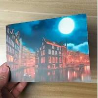 China China Factory Wholesale Good Quality Custom Offset Printing Plastic PET Lenticular 3D lenticular card on sale