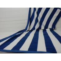 Buy cheap Factory Supply 100% cotton Yarn Dyed Jacquard Heavy Blue Stripe Pool Towel from wholesalers