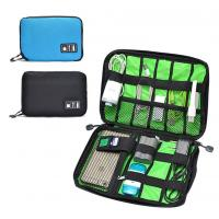 Digital Cable Organizer Travel Storage Bags Size  Customized With Zipper Manufactures