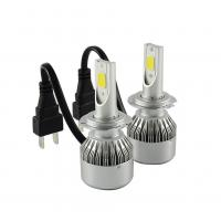Universal 12V LED Headlight Hot Car COB C6 Led Headlight With H7 6500K Manufactures
