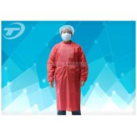 Buy cheap Soft Breathable Disposable Gowns For Hospitals Comfortable To Wear from wholesalers