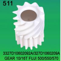 3327D10602092A / 327D1060209A GEAR TEETH-10/16 FOR FUJI FRONTIER 500/550/570 minilab Manufactures