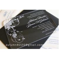 IC (12) in sales customized acrylic invitation Manufactures