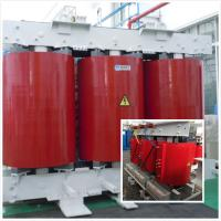 Low Rated 32 KVA Dry Type Transformer Epoxy Vacuum Cast With Skid - Type Underbase