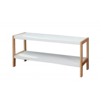 BSCI 70cm Wide Bamboo Shoe Shelf For Entryway Manufactures