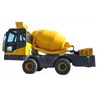 Heavy Duty Cement Mixer Machine Truck With Self Priming Water Sysytem Manufactures