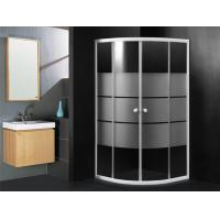 Quadrant Shower Cabin 900 X 900 Hotel Shower Enclosure Sliding With White Stripes Manufactures