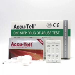 Accu-Tell®Multi-Drug Saliva Rapid Test Cassette Manufactures