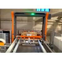 Automatic Palletiser Machine For Stacking Barrels / Drums / Pails 2-4 Layers Per Minute Manufactures