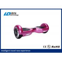 China Shiny Metallic Color Self Balancing Unicycle Electric Scooter With Bluetooth Speaker on sale