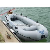 Lightweight Floating Inflatable Raft Boat Fishing , Motorized Inflatable Power Boats Manufactures