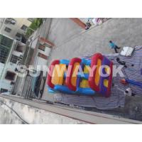 Wonderful Outside inflatable bounce house obstacle course for hire EN71 Manufactures