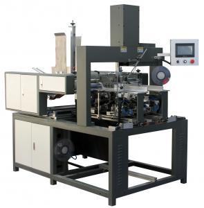 0.6Mpa Rigid Box Making Equipment For Pasting Single Arm Press 2.0KW Power