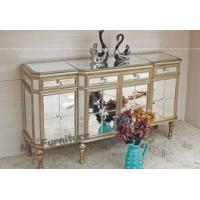 Popular Mirrored Side Board Durable Birch Wood Material Body Mirror Finish Manufactures