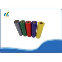 Textiles PVC Heat Transfer Vinyl Rolls 150 - 180 Degree With Cold Peeling Manufactures
