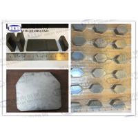 Quality Boron carbide B4C / Silicon Carbide SiC Armor Ceramic bulletproof plates for sale