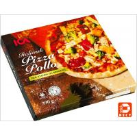 Italian Eco Friendly Empty Large Pizza Boxes 12 Inch Glossy Varnishing Surface Manufactures