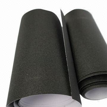Quality Black Diamond Car Body Glitter Vinyl Films, Air-free, 0.13mm Thickness for sale